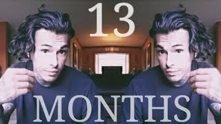 "Men's Hair Growth Journey (13 Months) ""UNDERCUT"""