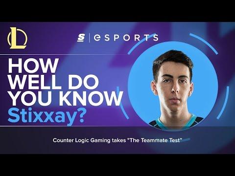 Xxx Mp4 The Teammate Test How Well Do You Know Stixxay 3gp Sex