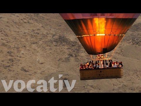 360° Hot Air Balloon Ride Over Egypt