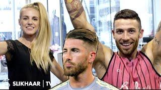 Sergio Ramos Hairstyle 2016 football EM ★ Men's Hair Tutorial ★ Created By Hair lovers