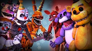 Ultimate FNAF FIGHT Animation Movie: Five Nights at Freddy's VS. Animation