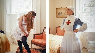 Getting Dressed in WW1 - VAD Nurse