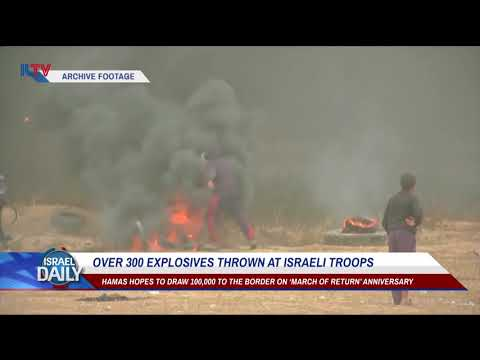 Xxx Mp4 Over 300 Explosives Thrown At Israeli Troops From Gaza Your News From Israel 3gp Sex