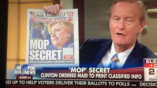 Breaking: Hillary Clinton Filipino Maid Handled Classified Information Without Clearance! Mop Secret