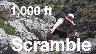 1,000 ft Scramble on Utah's Sharpest Rocks