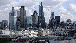Aussicht von der St. Pauls Kathedrale London from the top of st.-paul
