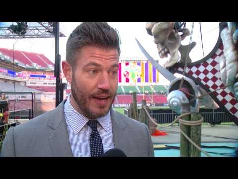 Laura Harris interviews GMA s Jesse Palmer about Alabama Clemson Championship rematch