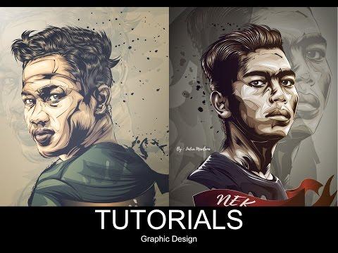 Vector Tutorial How to Make Hair Using Adobe Illustrator
