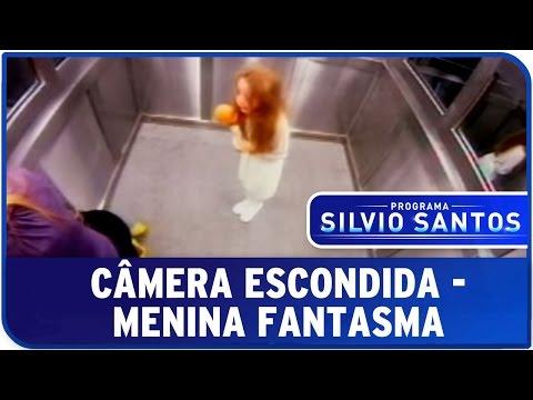 Câmera Escondida Menina Fantasma no Elevador