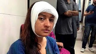 Alka Lamba's drama caught on CCTV