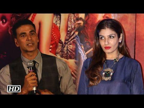 Akshay comments on Raveena Tandon's 'Tip tip barsa pani'