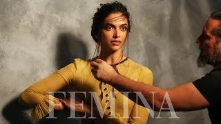 Deepika Padukone Shoots For Femina's India's Most Beautiful Cover