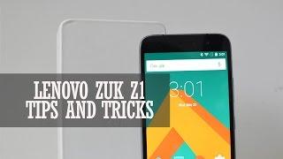 Lenovo ZUK Z1 Tips and Tricks