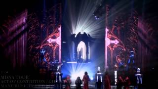 Madonna intro + Girl Gone Wild NEW VERSION) MDNA Tour EUROPE Bluray