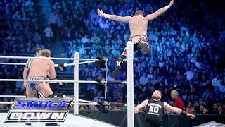 Dean Ambrose & Sami Zayn vs. Kevin Owens & Chris Jericho: SmackDown, April 21, 2016