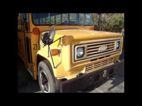 1991 chevy school bus