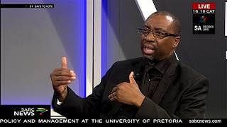Unpacking situation in Alex with Dr. Mazwe Majola