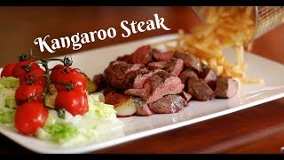 Kangaroo Burger and Steak Recipe - International Cuisines