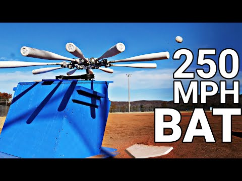World s Longest Home Run The Mad Batter Machine Smarter Every Day 230