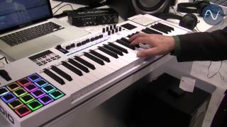 [NAMM] M-Audio Code: 25-, 49- and 61-Key MIDI Controllers