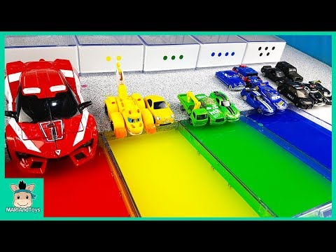 Xxx Mp4 Learn Colors With Disney Cars Lightning Mcqueen And Tayo Friends Nursery Rhymes Song MariAndToys 3gp Sex