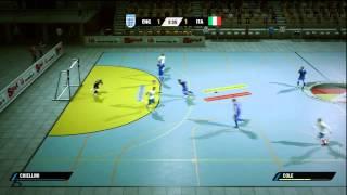 FIFA STREET 4 - FUTSAL ENGLAND VS ITALY