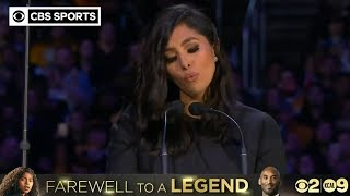 Vanessa Bryant shares powerful, emotional words at Kobe and Gianna Bryant Memorial | CBS Sports HQ