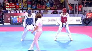 [Male -58kg]  Tae-Hun KIM (KOR) vs Farzan ASHOURZADEH FALLAH (IRI)