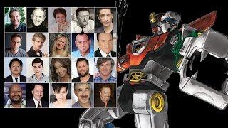 """Voice Cast Comparisons - """"Voltron"""""""