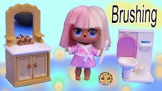 Happy Teeth + Princess Tooth ! LOL Surprise Doll Dentist Visit - Toy Video