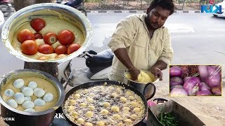 #Yummy! Tomoto Egg Bonda Recipe |  بيضة بوندا وصفة | Street food
