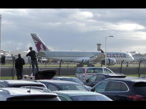 Unbelievable ! This New gorgeous passenger jet Airbus A350 is so quiet