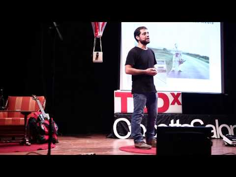Travelling without spending money Simon Dabbicco TEDxCrocettaSalon