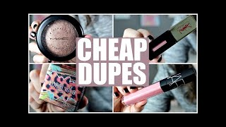 Makeup Collection - CHEAP DRUGSTORE DUPES for High End Makeup | 2016