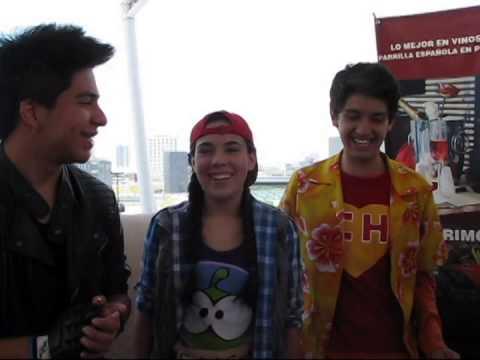 Adri Monche y Roque Invitan a sus fans de Puebla a La CQ el Musical