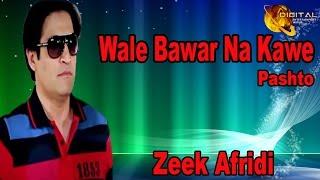 Wale Bawar Na Kawe | Pashto Singer Zeek Afridi | HD Song