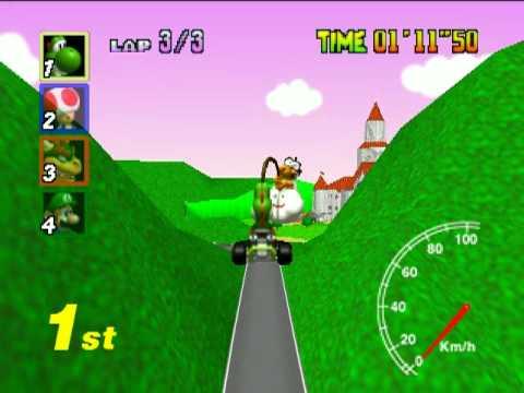Mario Kart 64 TAS Star Cup Test Run