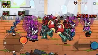 Cartoon Wars 3 Infinity Spire - Gunner With Flame Ninja Sf4 2018