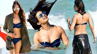 Priyanka Chopra Display Her Hot Bikini Body On Miami Beach