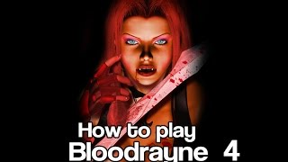 How to Play BloodRayne - Vampire Powers- Gameplay and Commentary 4