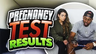 ARE WE REALLY HAVING A BABY PREGNANCY TEST RESULTS 😱👶