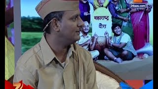 Chala Hawa Yeu Dya : Postman Sagar Karande With Nana Patekar 24th December 2015