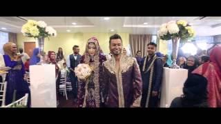 Zafir & Sameenah | Malaysia Indian Muslim Wedding  Video Montage Trailer