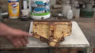 Columbian Woodworking Vise Restoration - Part 1
