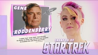 Star Trek Creator Gene Roddenberry Imagined A Positive Future For Humanity - Artist Biography