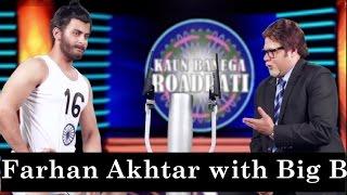 Farhan Akhtar as Milkha Singh - Kaun Banega Roadpati: Season 2 - Comedy One