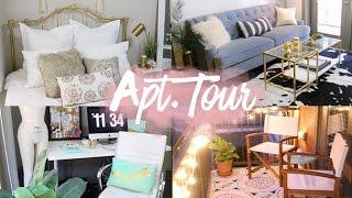 Apartment Tour 2016   Modern Boho Style   RAVEN ELYSE