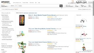 Amazon - How To Narrow Down Your Product Search Through Filters