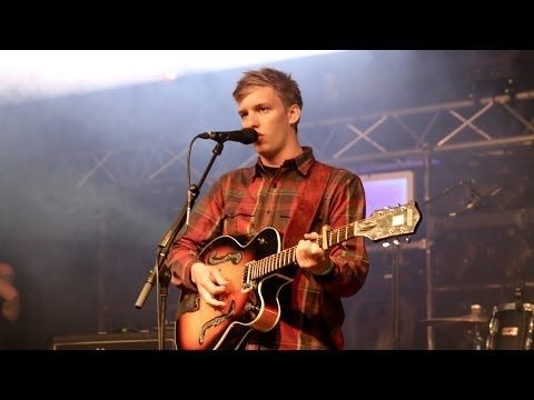 George Ezra's surprise performance on the BBC Introducing stage at Glastonbury 2014