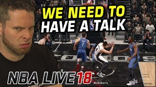 We need to talk about NBA Live 18